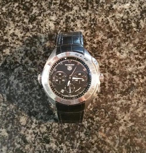 Men 39 s watches tag heuer mercedes benz slr limited for Tag heuer mercedes benz slr