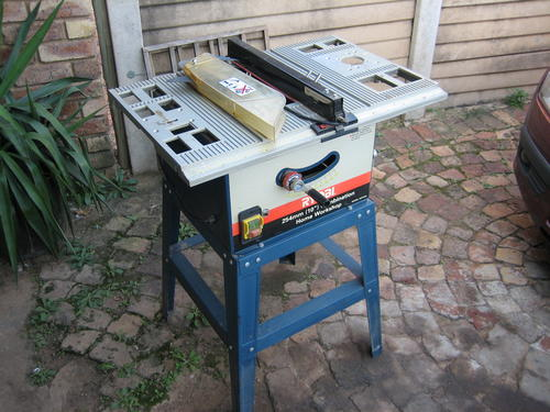 Woodworking - Ryobi 254mm Combination Home Workshop was ...