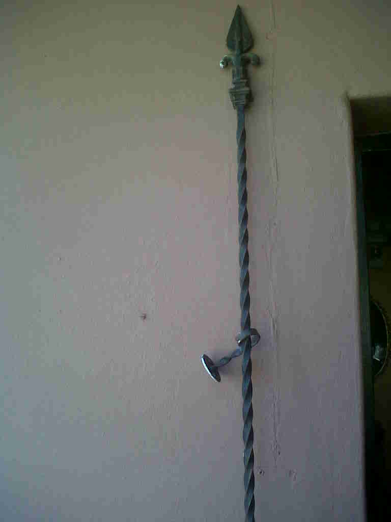 Curtain Rods Wrought Iron Curtain Rod Was Sold For R150