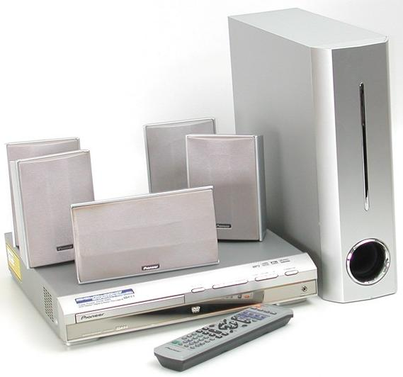 home theatre systems pioneer home theater system excluding dvd player was sold for. Black Bedroom Furniture Sets. Home Design Ideas