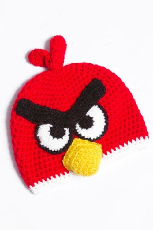 Crochet Hat Pattern Angry Bird : Pin Angry Birds Pig Hat Crochet Pattern on Pinterest