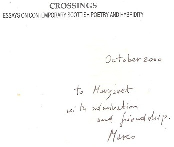 Essays on contemporary poetry
