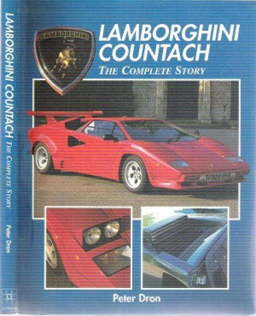cars lamborghini countach the complete story by peter dron was listed fo. Black Bedroom Furniture Sets. Home Design Ideas