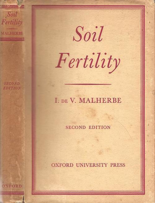 Natural science soil fertility by i de v malherbe was for Fertile soil 07
