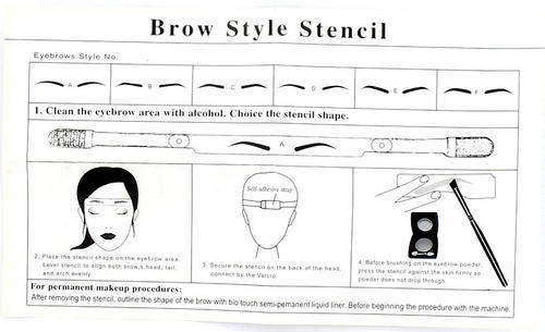 photograph relating to Eyebrow Shapes Stencils Printable named jolie weblogs: megan fox eyebrows stencil