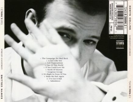 Edwyn Collins - Gorgeous George  CD Gorgeous George Edwyn Collins
