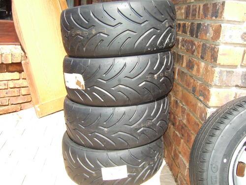 wheel tyre sets dunlop direzza 03 g 225 45 17 was sold. Black Bedroom Furniture Sets. Home Design Ideas