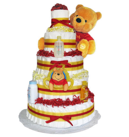 How To Join Tiers Of Nappy Cake