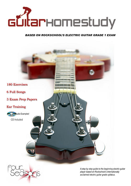 learn the electric guitar, rockschool, guitar for beginners, guitar chords
