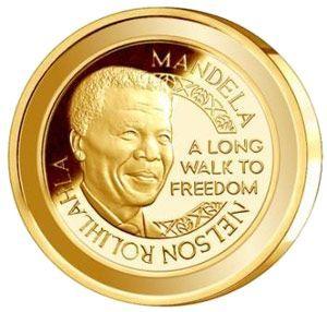 (原创)纪念曼德拉出狱20周年金币 - 六一儿童 - 译海拾蚌