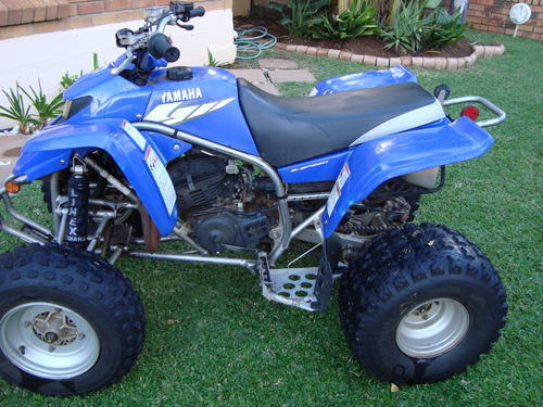 Quad bikes 2006 yamaha blaster 200cc was sold for r9 200 for Yamaha r9 motorcycle