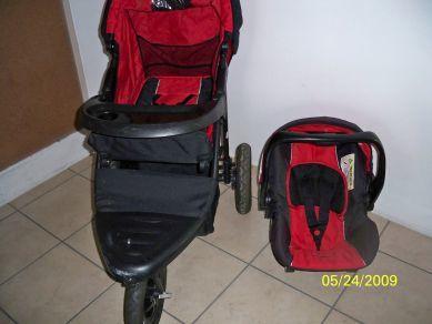 Travel Systems Pram Chelino Sports Runner Travel