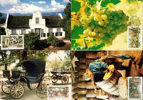 (原创)南非邮票上的葡萄与葡萄酒 - 六一儿童 - 译海拾蚌