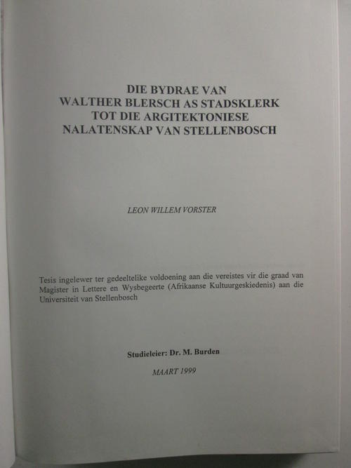 Walther thesis 25