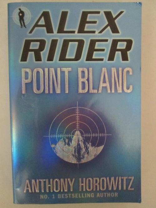 alex rider point blanc book report