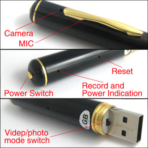 USB Spy Pen Info