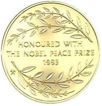Rare Mandela Coins and Medallions: Nobel Laureates and Nobel Protea Coins