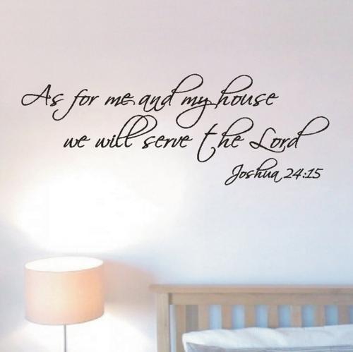 Wall Art Decals Motivational : Wall decals christian inspirational vinyl