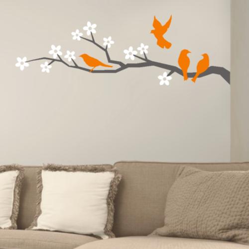 Alfa img - Showing > Tree Branch Vinyl Wall Art