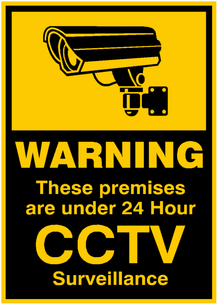 Personal Security Cctv Signs Was Sold For R60 00 On 25