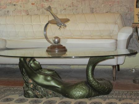 Tables Retro Tretchikoff Style Mermaid Coffee Table Was Sold For R1 On 29 Jan At 22 01