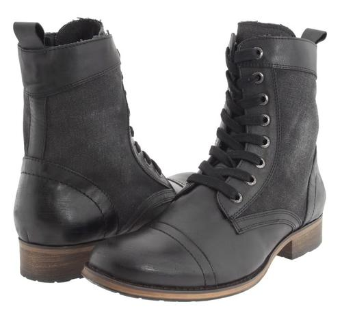 Shoes Guess Men S Genuine Leather Boots Was Sold For