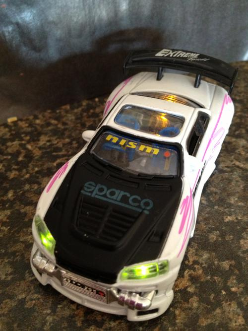 Car Battery Ratings >> Models - KENTOYS NISSAN SKYLINE GTR LIGHTS UP! 1:24 was ...