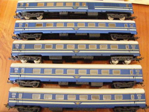 LIMA SAR BLUE TRAIN COACHES HO