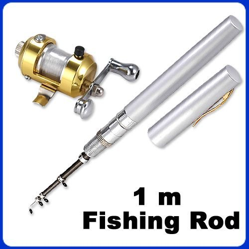 Rods Pocket Pen Fishing Rod Worlds Smallest Fishing Rod