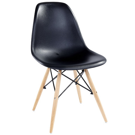 Furniture Plastic Moulded Chair In Black Or White Pm07 Was Sold For On 15 Mar At 14 17