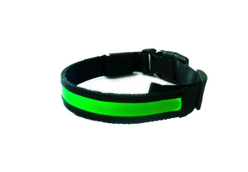 Glow in the dark pet collar