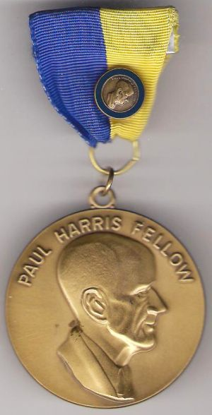 Other medals rotary international paul harris medal with for Army emergency reserve decoration
