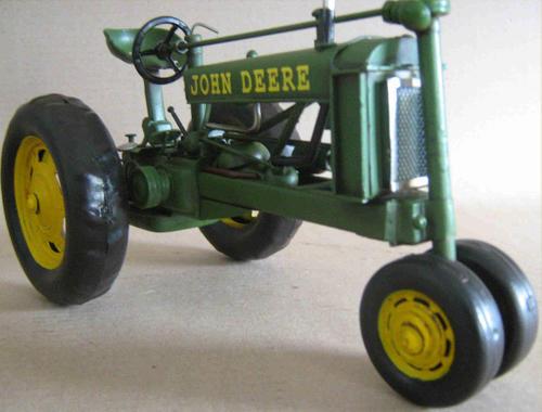 John Deere Metal Tractor Seat : Other antiques collectables john deere metal model