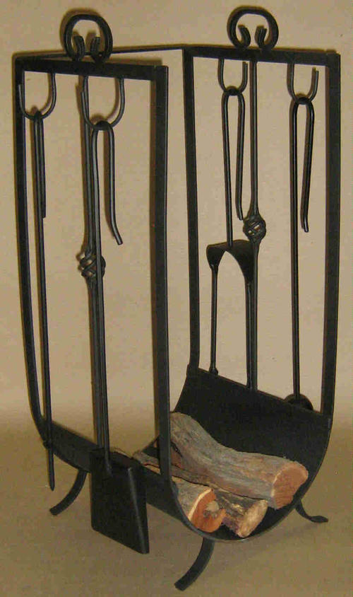 Fireplaces Accessories Fireplace Log Rack With Tools Lr1 Was Sold For On 9 Jul At