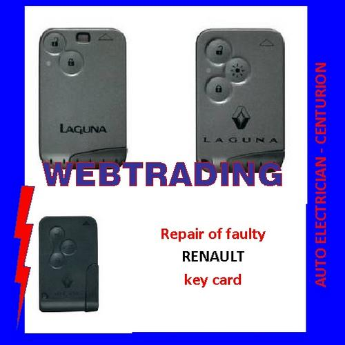 other parts accessories renault key card repair was. Black Bedroom Furniture Sets. Home Design Ideas
