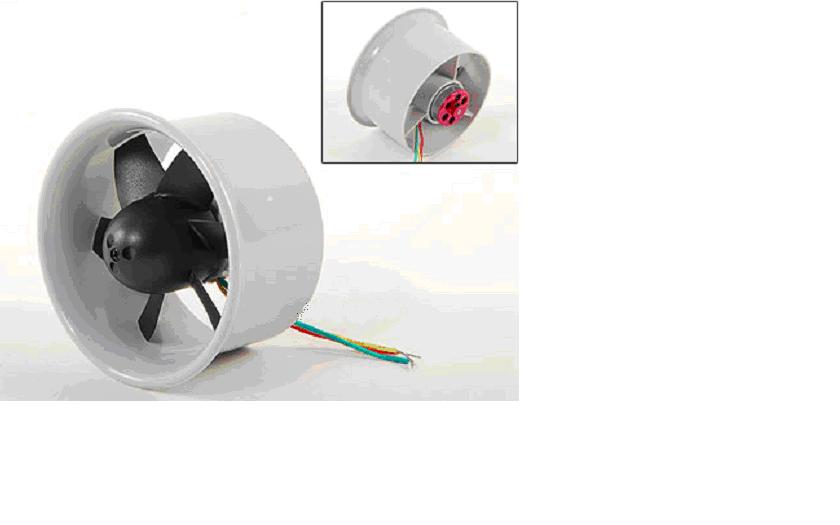 Parts Amp Accessories Electric Ducted Fan Edf64 With Motor
