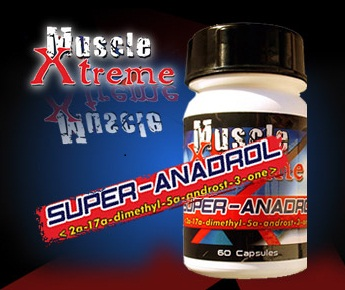 Mass Builders - Super Anadrol (Muscle Extreme) 60 capsules