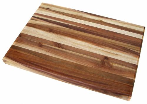 Cutting Boards Large Laminated Black Wood Chopping