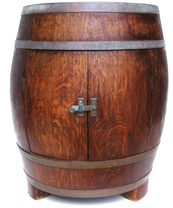 Bar Accessories Vintage Oak Barrel Wine Bar Liquor