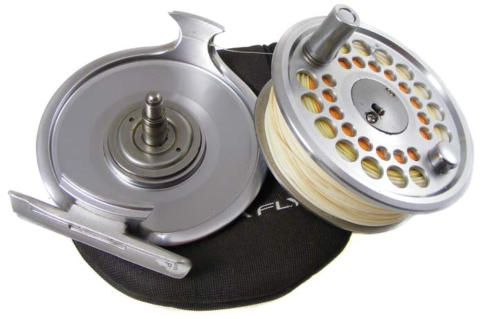 reels - shimano ultegra 56 fly fishing reel - filled with fly line, Fishing Reels