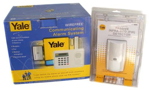 other home security yale hsa3500 wireless communicating. Black Bedroom Furniture Sets. Home Design Ideas