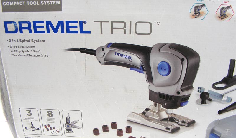 Other Power Tools Dremel Trio 3in1 Spiral System Multi