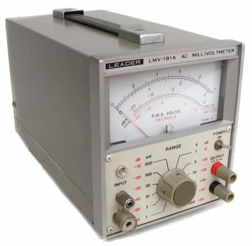 Digital Millivolt Meter : Test equipment leader ac millivolt meter excellent and
