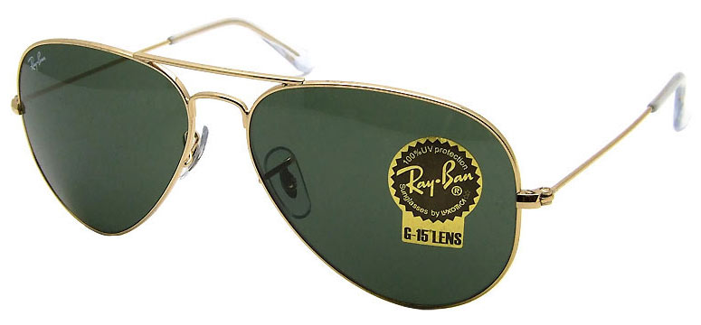 ray ban g15 aviator price  Sunglasses - Genuine Ray Ban Large Aviator Sunglasses Green G15 ...