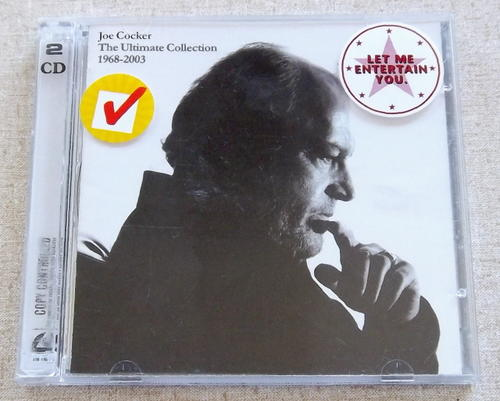 Joe Cocker Ultimate Collection: JOE COCKER The Ultimate Collection 1968-2003 Double