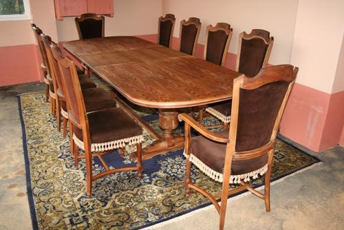 other furniture magnificent oak 10 seater dining room set free
