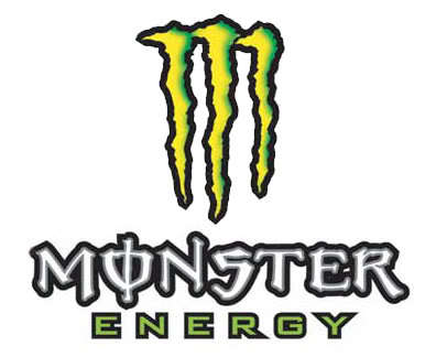 MONSTER ENERGY STICKERS - 3 FOR R20