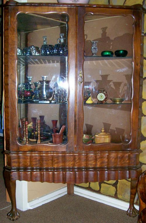 Corner Exhibition Stands Johannesburg : Cabinets beautiful ball claw corner unit display