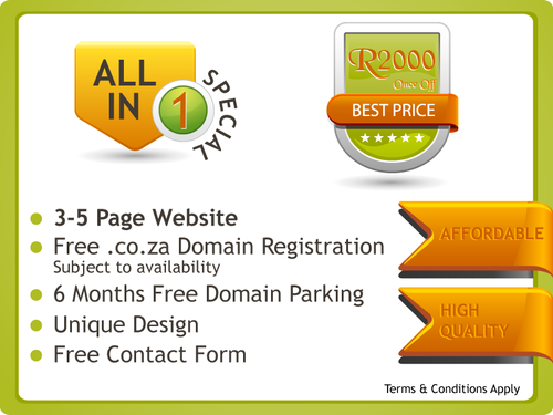 All In One Web Design Special
