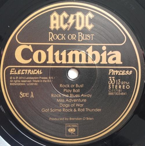 electronica ac dc rock or bust vinyl lp album lenticular cover uk 2014 180g was sold for. Black Bedroom Furniture Sets. Home Design Ideas